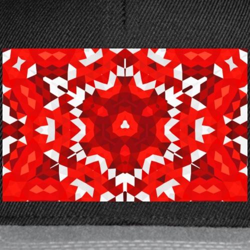 red & white - Casquette snapback