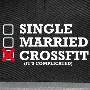 Singolo - Married - Crossfit - Snapback Cap