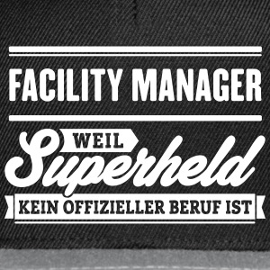 Superheld Facility Manager - Snapback Cap