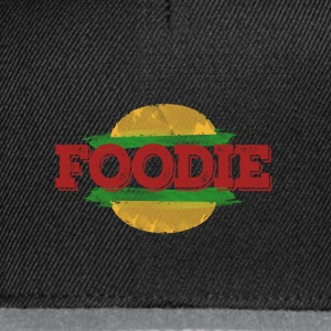 Foodie Fast Food Hamburger - Snapback-caps