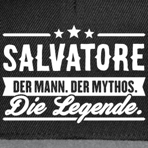 Man Myth Legend Salvatore - Snapback Cap