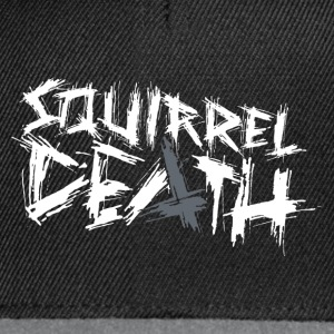 SQUIRREL DEATH - Original Logo - Snapback Cap