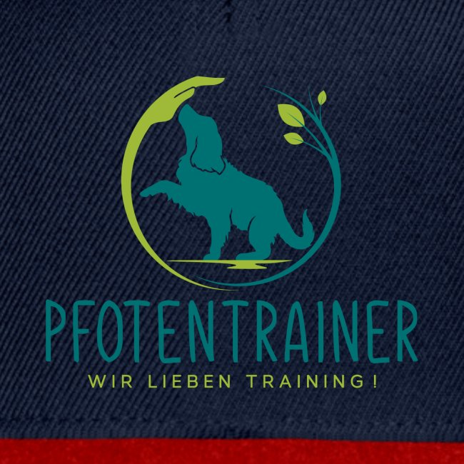 Pfotentrainer blau