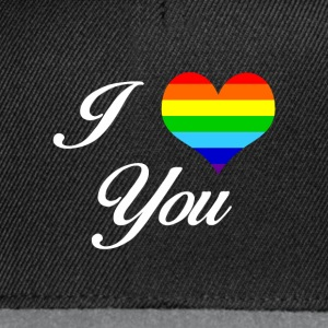 LGBT I LOVE YOU - Snapback-caps