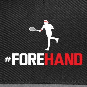 #Forehand Tennis - Casquette snapback