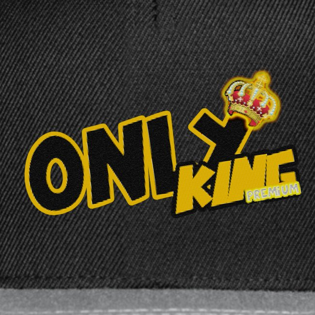 """OnlyKing"" snapback"