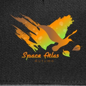 Space Atlas Long Shirt Tee Autumn Leaves - Snapback Cap