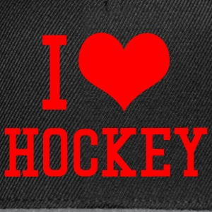 I Love Hockey - Snapback Cap