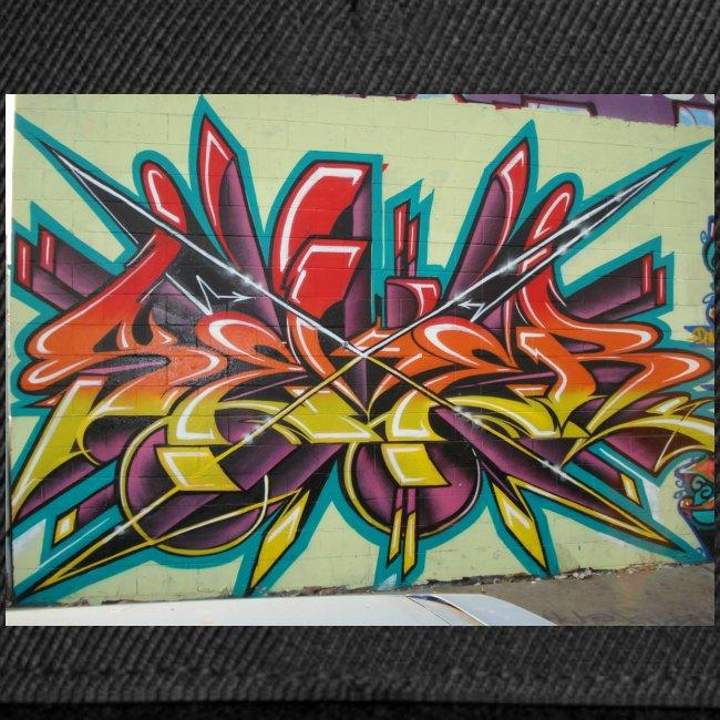 Free Graffiti Wallpaper 1 Snapback Cap