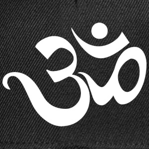 Om Sanskrit Yoga India - Snapback-caps