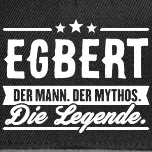Man Myth Legend Egbert - Snapback Cap
