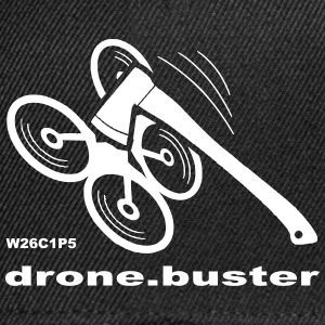 drone-buster - Snapback-caps