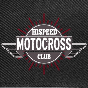 Motocross Hispeed Club - Snapback Cap