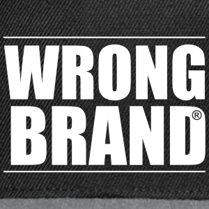Wrong Brand: the ultimate brand parody - Snapback Cap