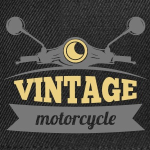 Motorcycle Vintage - Casquette snapback