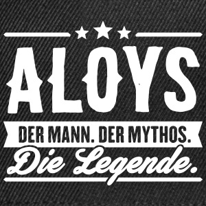 Man Myth Legend Aloys - Snapback Cap