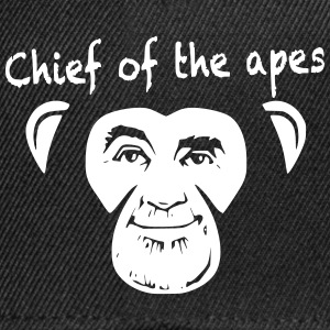 Chief of the apes - Snapback Cap