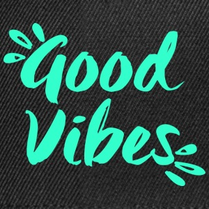 Good Vibes - Yoga - Snapback Cap