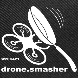 drone-smasher - Snapback-caps