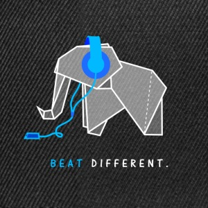 beat different elephant - Snapback Cap