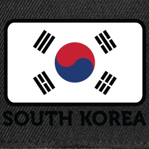 National Flag Of South Korea - Snapback Cap