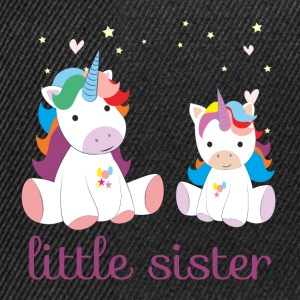 Unicorn little sister - Snapback Cap
