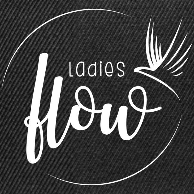 Ladies Flow LO Logo White