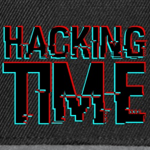 HACKING TIME HACKER - Snapback Cap