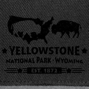 Buffalo Bison Buffalo Yellowstone National Park USA - Snapback-caps