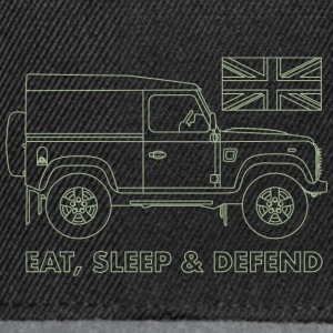 Eat, Sleep & Defend - Casquette snapback