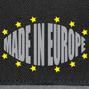Made In Europe - Snapback Cap