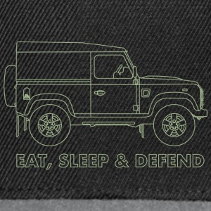 Eat Sleep Defend - Snapback Cap