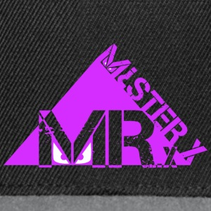 MR X-purple - Snapback Cap