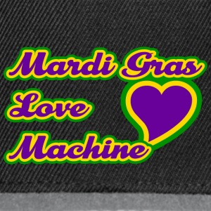 Mardi Gras Love Machine - Snapback cap