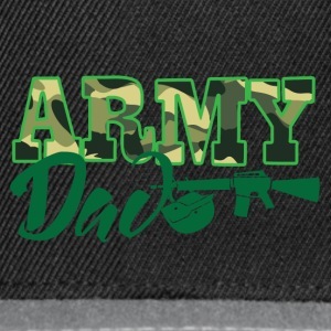 Military / Soldiers: Army Dad - Snapback Cap