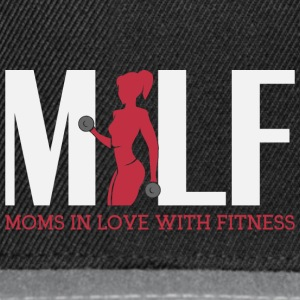 Moms in love with fitness - Snapback Cap