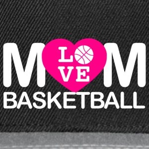 Mom love basketball - Snapback Cap