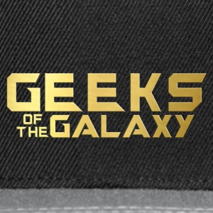 Geek: Geeks of the Galaxy - Snapback Cap