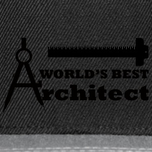 Architect / Architecture: World's Best Architect - Snapback Cap