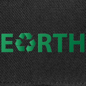 Earth Day: Earth - Recycling - Snapback Cap