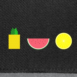 DIGITAL FRUIT ananas sitron melon - Snapback-caps