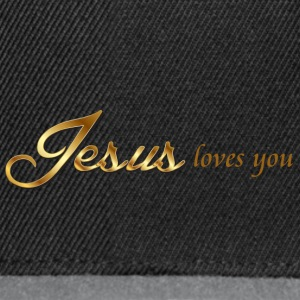 Jesus loves you - Snapback Cap