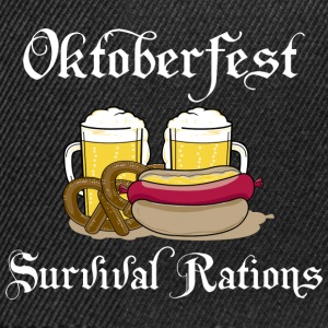 Oktoberfest Survival Rations - Snapbackkeps