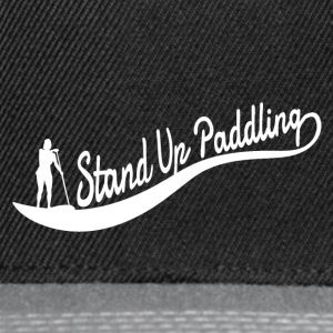 Stand Up Paddling - Wave - Girl - Snapback Cap