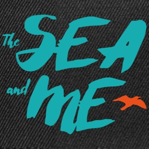 THE SEA AND ME - Snapback Cap