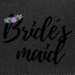 Wedding / Marriage: Bride's maid - Snapback Cap