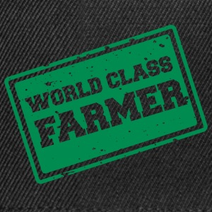 Farmer / Landwirt / Bauer: World Class Farmer - Snapback Cap