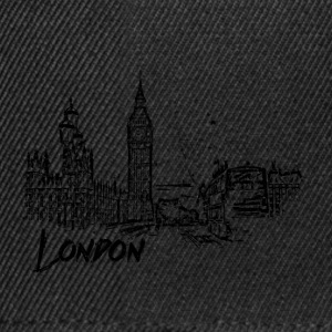 London Cityscape skisse - Snapback-caps