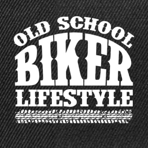 Old School Biker - Snapback-caps