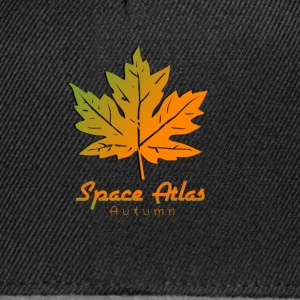 Ladies Long Sleeve Shirt Autumn Atlas Space - Snapback Cap